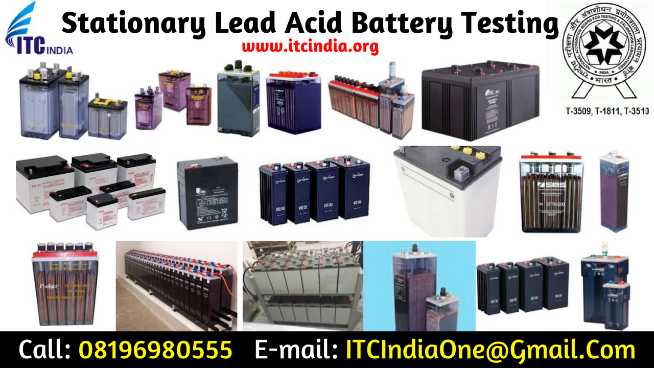 Are you looking for Stationary Lead Acid Battery Testing?