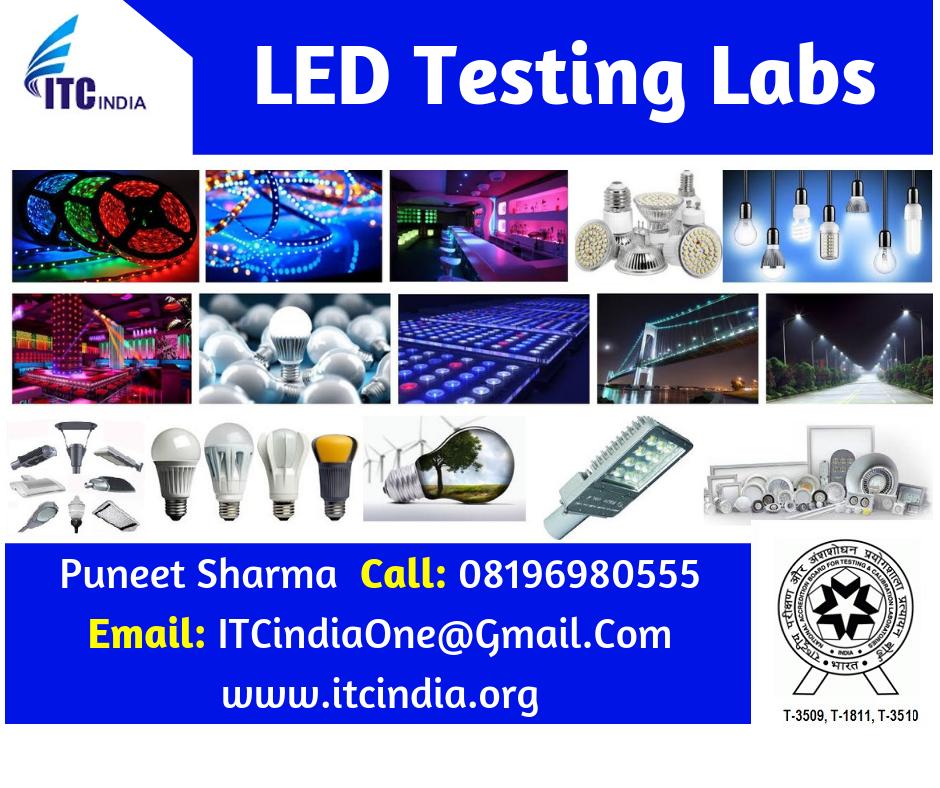 LED Testing Labs | LED Testing Laboratories - ITC India