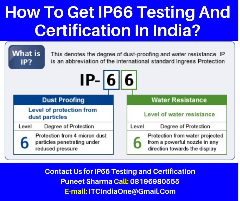 How To Get IP66 Testing And Certification In India?