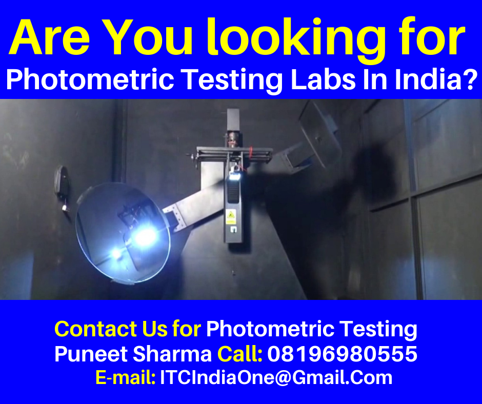 Are You Looking for Photometric Testing Labs In India?