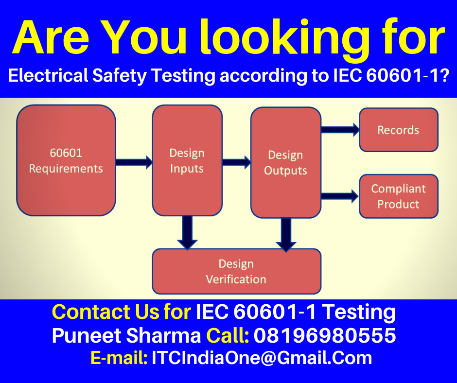 Are You Looking for Electrical Safety Testing according to IEC 60601-1?