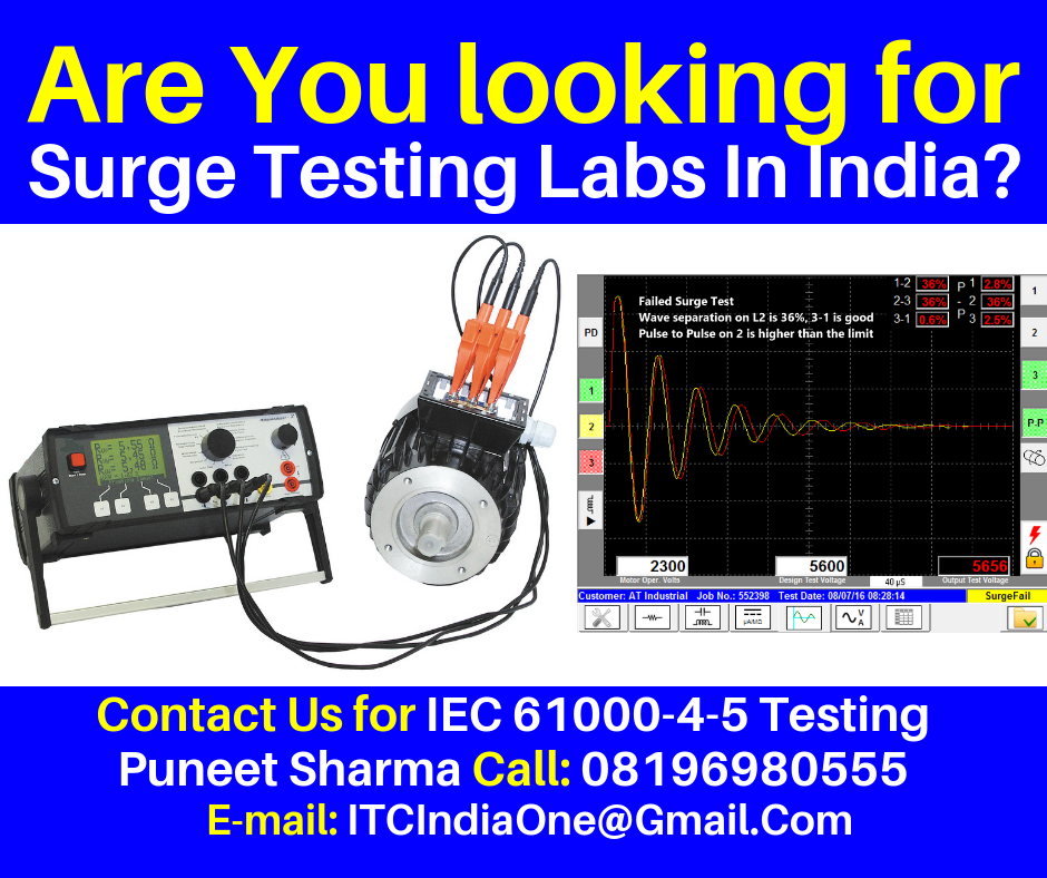 Are You Looking for Surge Testing Labs In India?