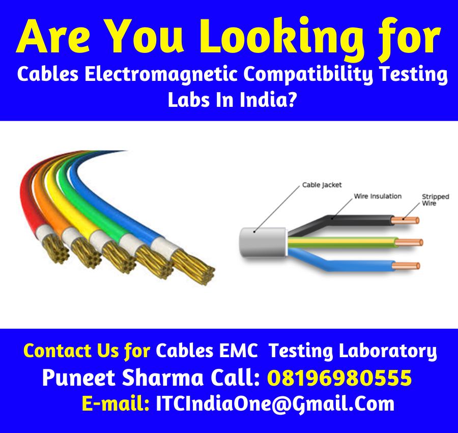 Cables EMC Electromagnetic Compatibility Testing
